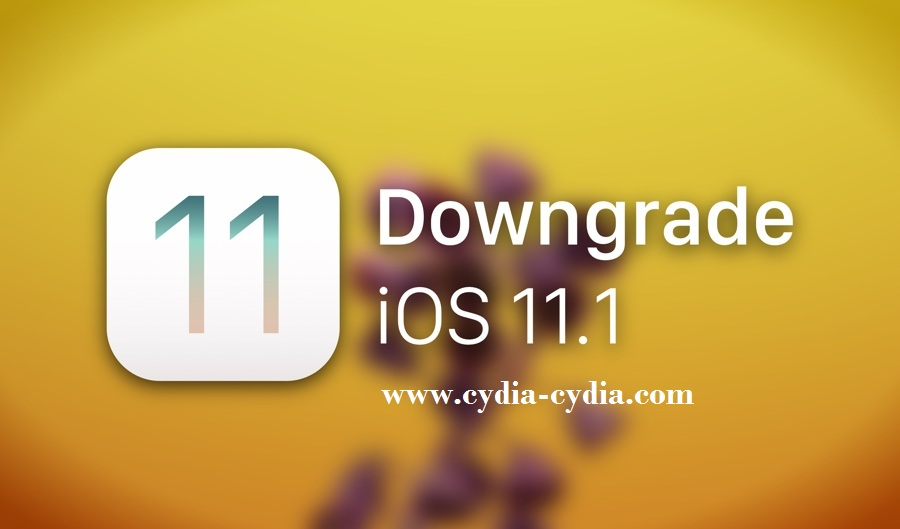 how to downgrade iOS 11.1.2