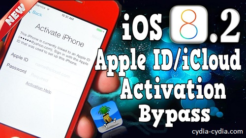 iOS 8 Bypass iCloud Activation Lock