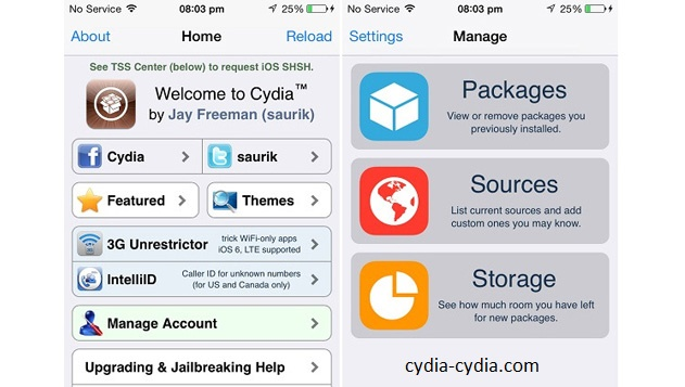 Download Cydia For iOS 8.3