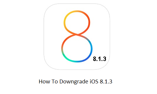 downgrade iOS 8.1.3