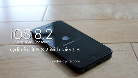 TaiG jailbreak for the iOS 8.2