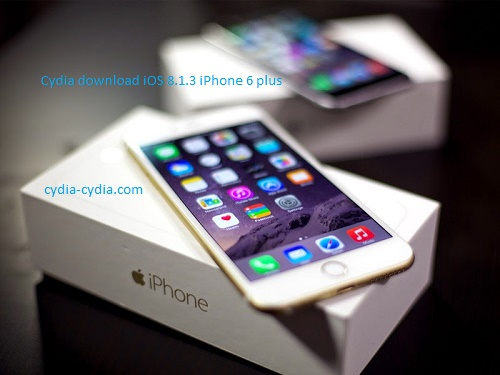 Cydia download iOS 8.1.3 iPhone 6 plus