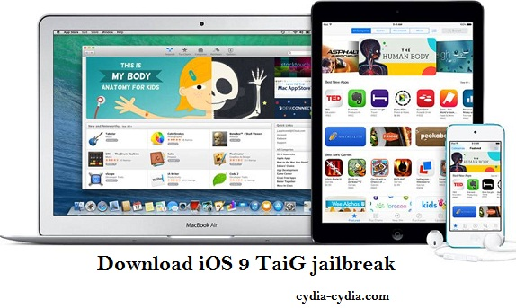 Download iOS 9 TaiG jailbreak