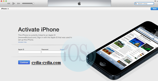 iOS 9 iCloud Bypass Activation