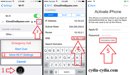 iOS 9 Bypass iCloud Activation