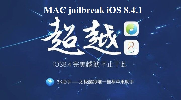 iOS 8.4.1 jailbreak Mac