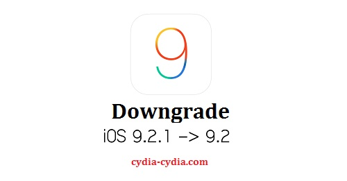 iOS 9.2.1 downgrade