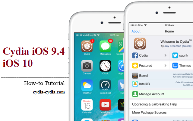 iPhone 6s Cydia