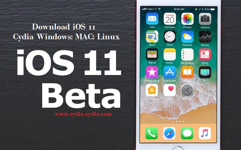 Download iOS 11 Cydia Windows: MAC: Linux