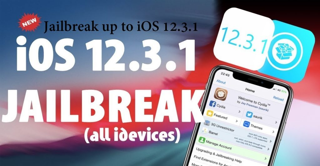 Jailbreak up to iOS 12.3.1